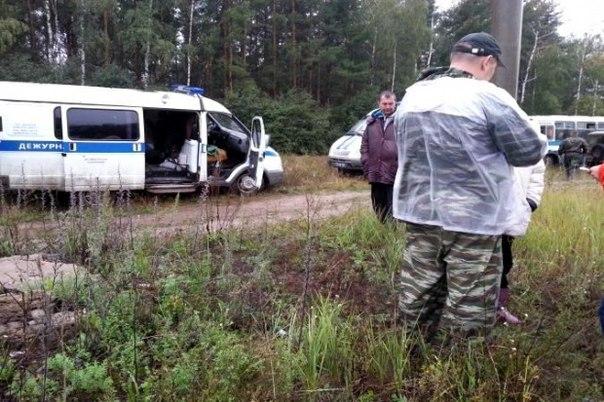 Потерявшуюся женщину спасли спецназовцы ВВ