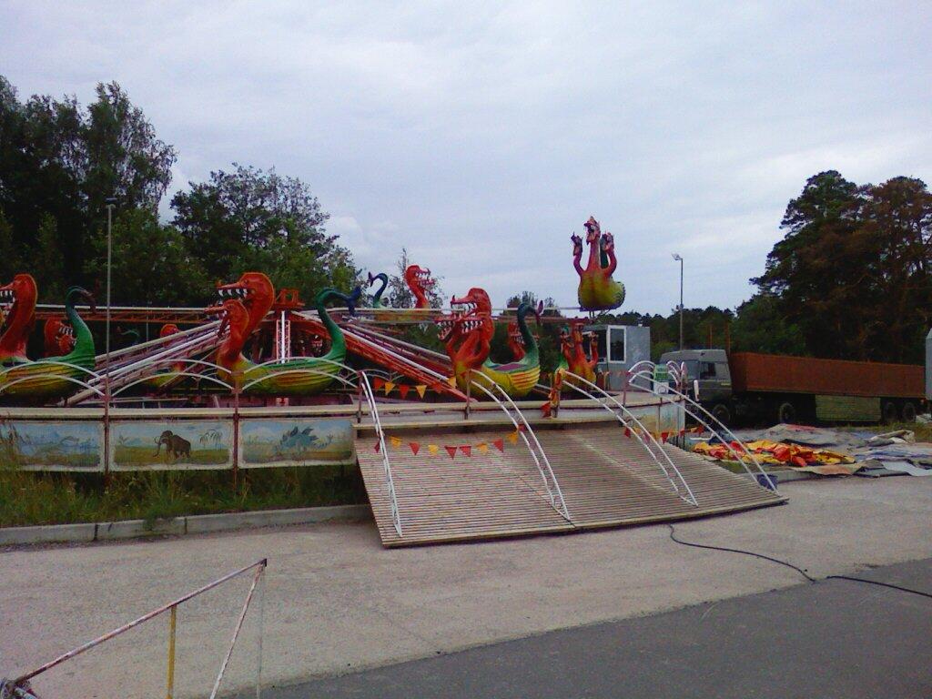 Чешский Лунапарк в Сосновом Бору