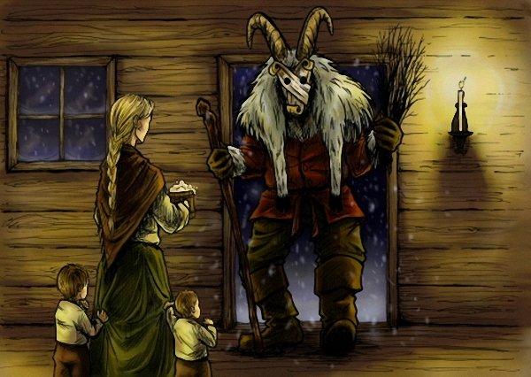 Йоулупукки - Рождественский козел