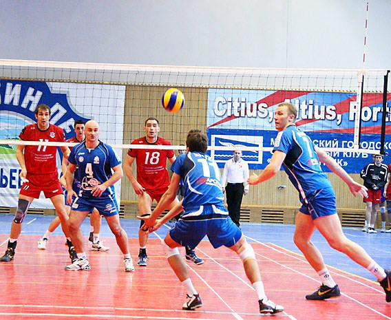 Волейбол в Сосновом Бору