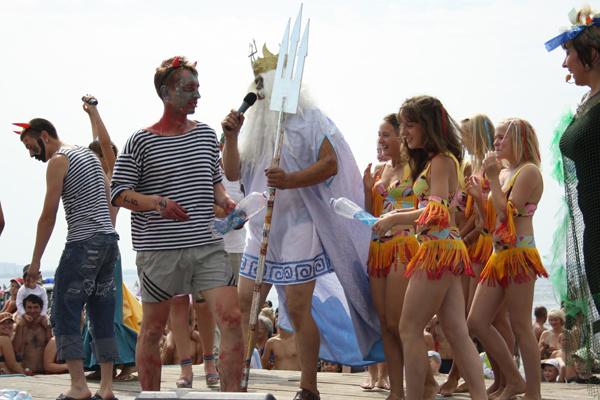 День Нептуна в Сосновом Бору 2013
